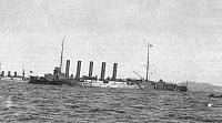 Askold at Port Arthur (1904)